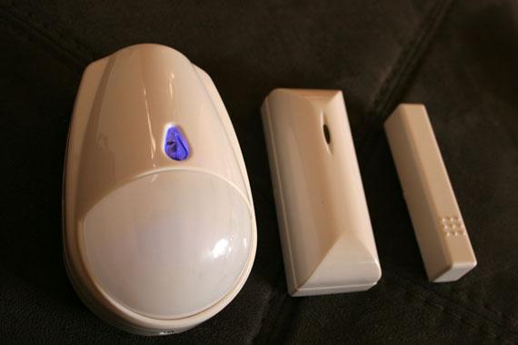 detecteurs presence alarme sans fil maison