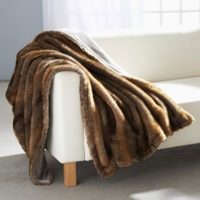 plaid pour décorer canapé