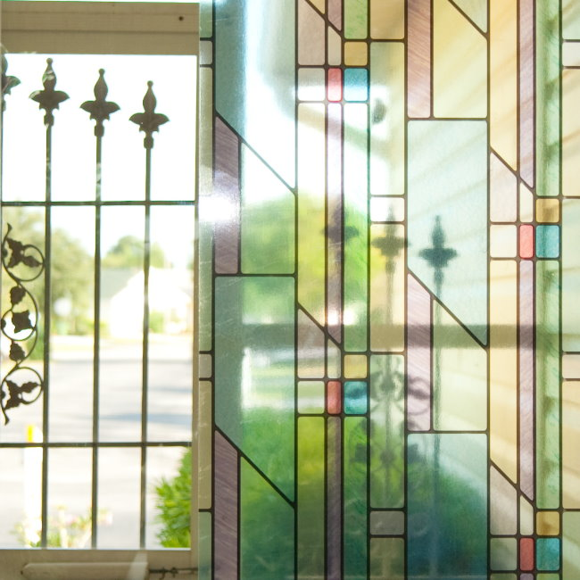 film adhesif decoratif pour vitre fenetres