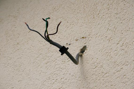 electricite pour eclairage extrieur