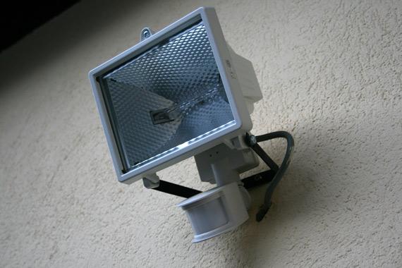 luminaire-extérieur-détection-mouvement