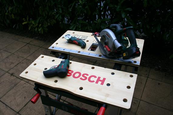 Etabli pliable Bosch PWB 600