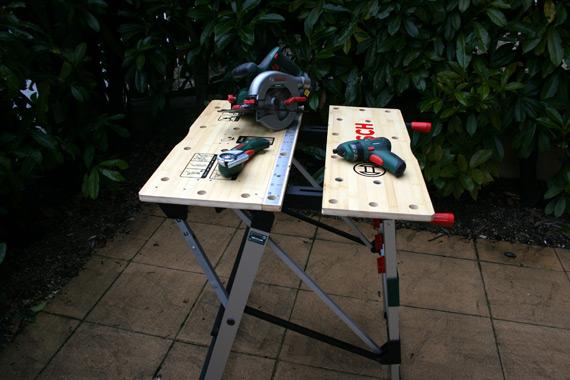 Table de travail Bosch PWB 600