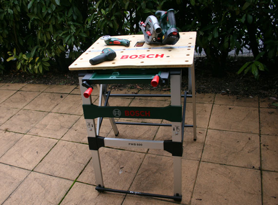 table pliante Bosch pour bricoler