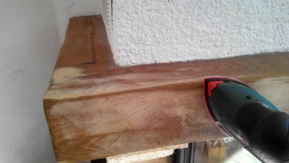 Comment peindre la poutre de votre chemin e conseils et astuces bricolage - Restaurer cheminee ancienne ...