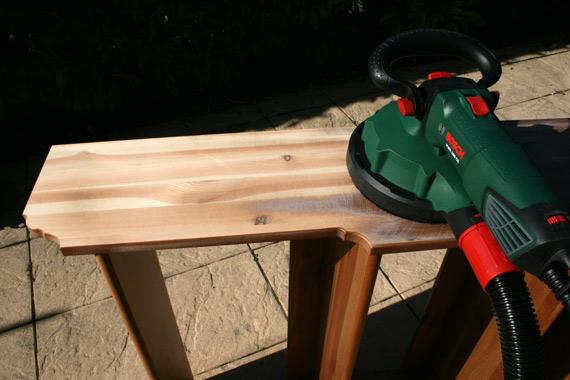 comment poncer bois avec ponceuse multimatériaux Bosch PWR 180 CE
