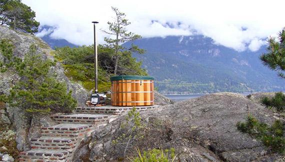 Installer un bain nordique dans son jardin conseils et for Chauffer piscine au bois