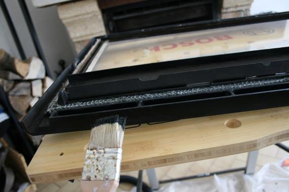 Superb comment nettoyer une vitre de cheminee 8 repeindre fonte insert poel - Nettoyer vitre insert ...