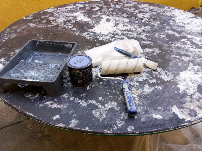Comment repeindre une table en fer rouillée ? | Blog ...