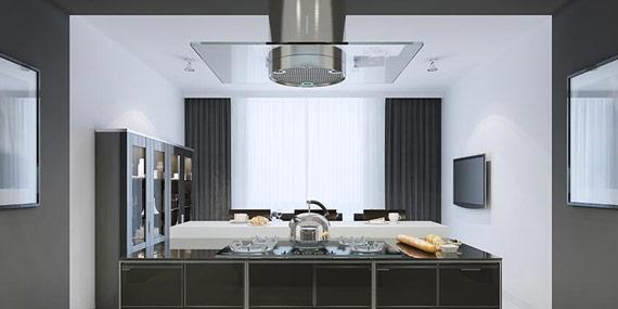 Quelle hotte de cuisine choisir conseils et astuces bricolage d coration - Quelle hotte ilot choisir ...