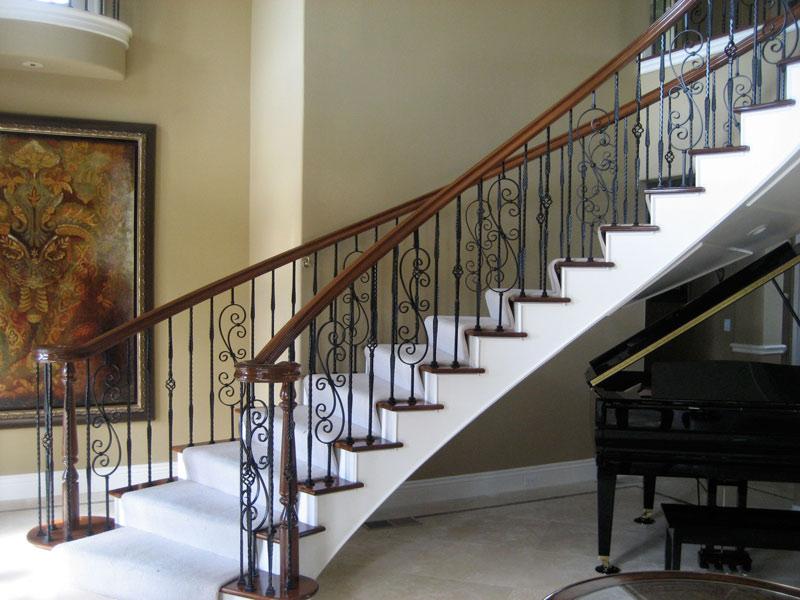 Rambarde-escalier-fer-forgé