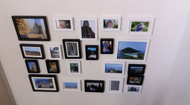 Disposition-cadres-photos-sur-un-mur