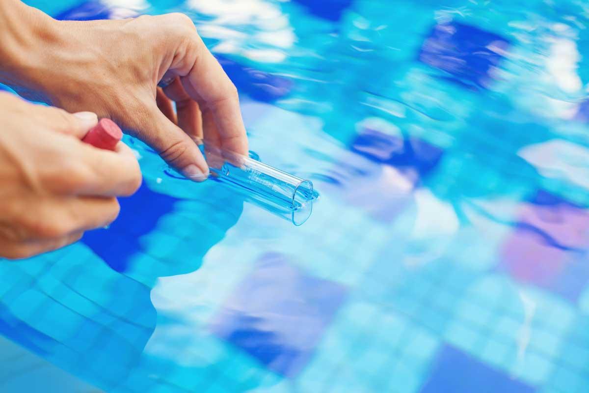 eau piscine test eau