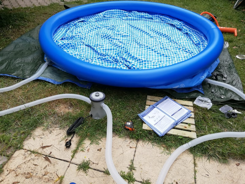 Comment installer une piscine autoportante gonflable