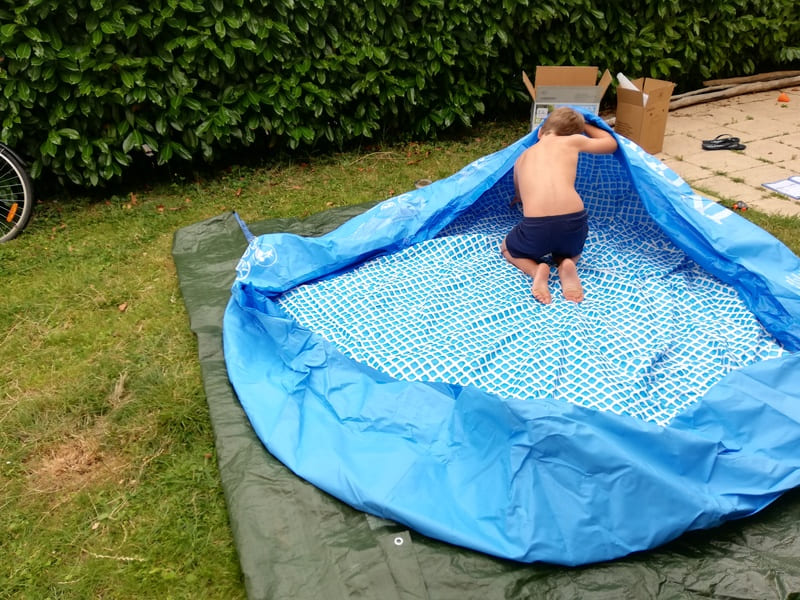 Tutoriel piscine autoportante