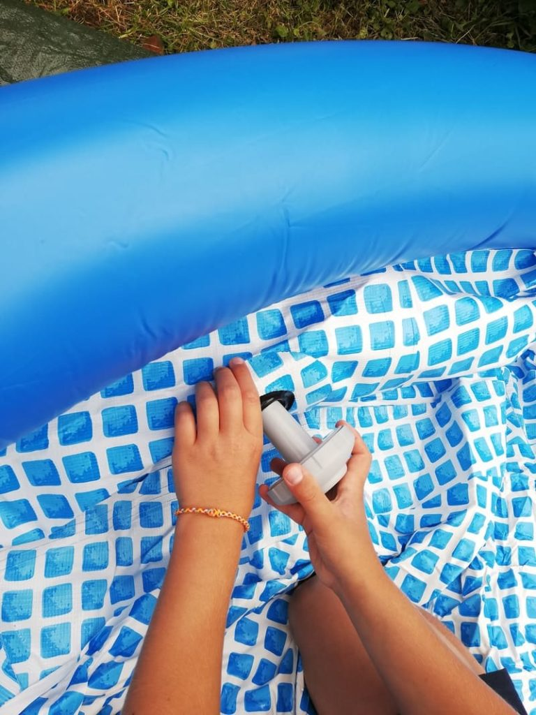 Tutoriel piscine intex 2m44