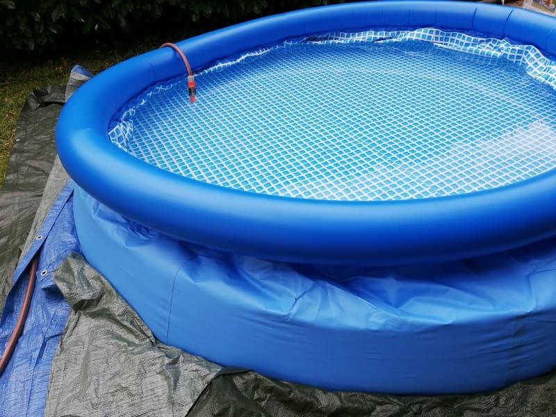 installer piscine autoportee