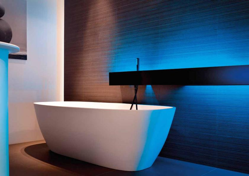 Bandes led profile aluminium salle de bains