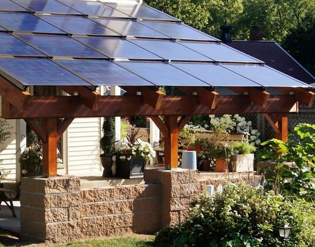 jolis panneaux solaires