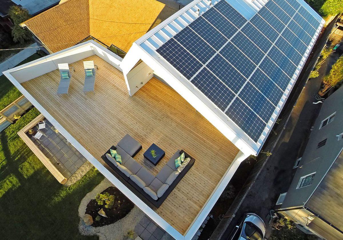 panneaux solaires design