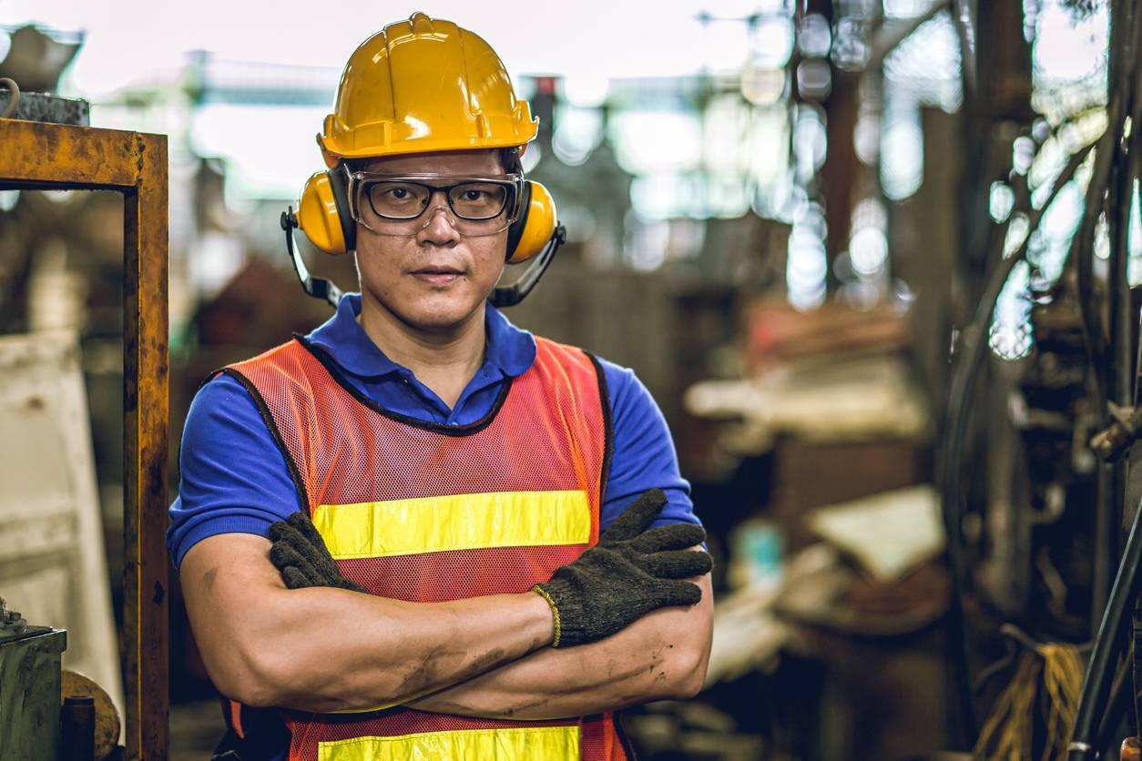 epi équipements de protection individuelle chantier