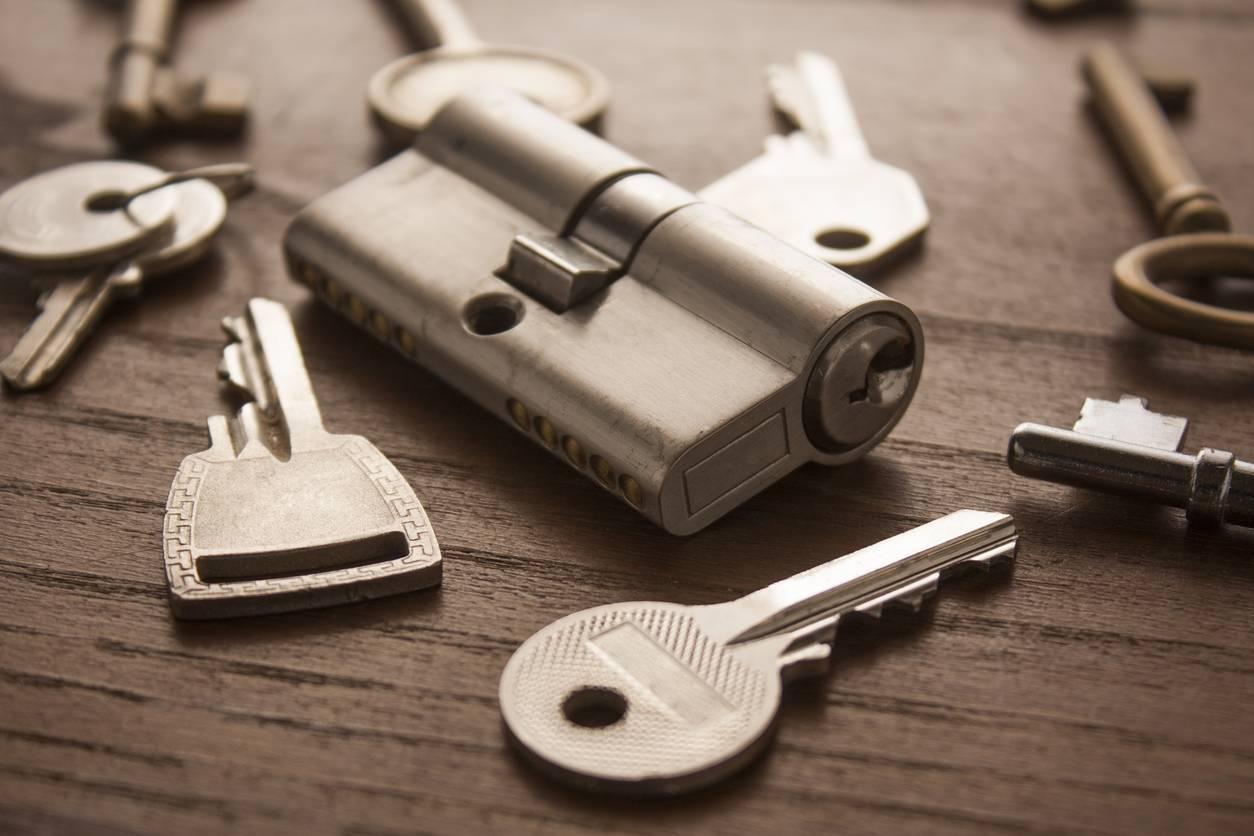 serrure et clés