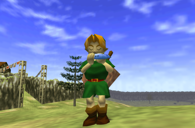 jouer ocarina of time sur google tv