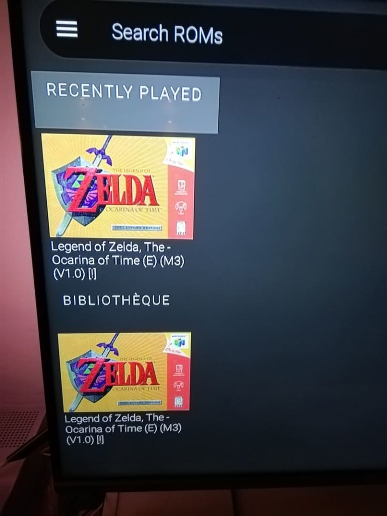 jouer zelda ocarina of time sur google tv
