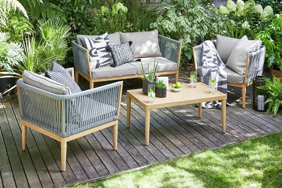 mobilier de jardin bois design