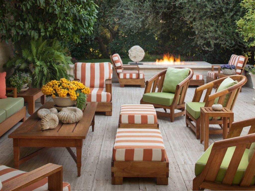 mobilier de jardin design bois