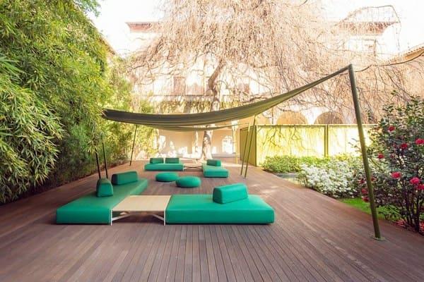 mobilier de jardin design minimaliste