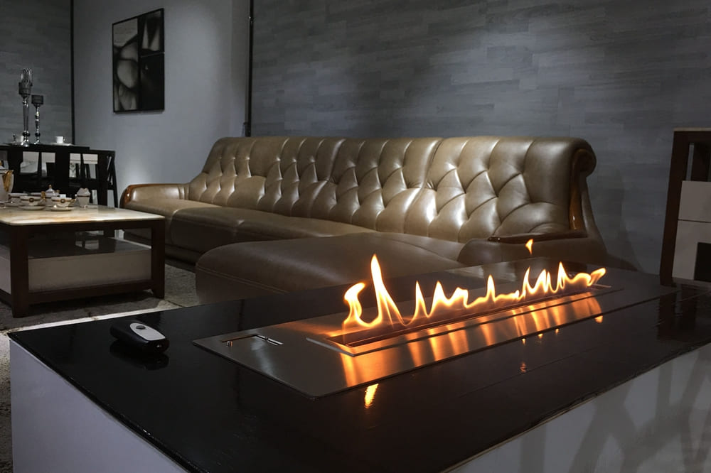 cheminee bioethanol design